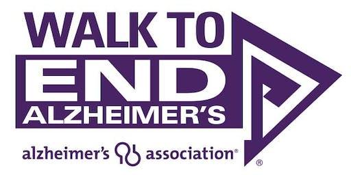 2019 Northeastern MA Walk To End Alzheimer's Kick Off - Lowell Spinners- Rescheduled