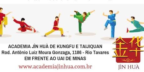 Aula Aberta de Kung Fu ingressos