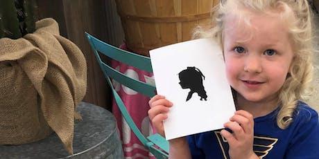 Bubbles Ice Cream (Michigan City, IN) Hosts Silhouette Artist Chris Casey tickets