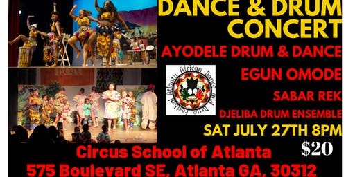 African Drum and Dance Concert