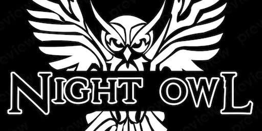 Night Owl cafe pop-up