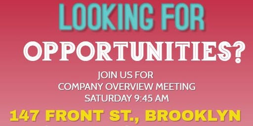 Looking for OPPORTUNITIES???
