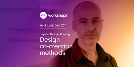 Beyond Design Thinking: Design co-creation methods with Raul Sarrot tickets