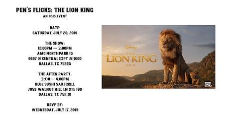 Pen's Flicks: The Lion King tickets