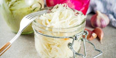 Fermented Veggie Class! DIY Sauerkraut! tickets
