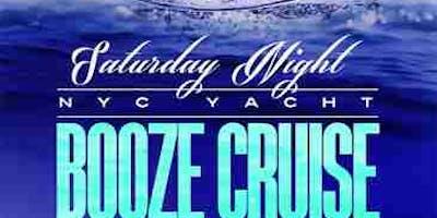 NYC SATURDAY NIGHT BOOOZE CRUISE @ ART GALLERY YACHT