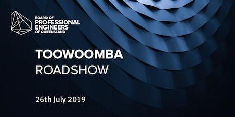 Toowoomba roadshow tickets