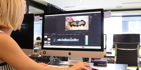 Professional video editing: intro to Premiere Pro tickets