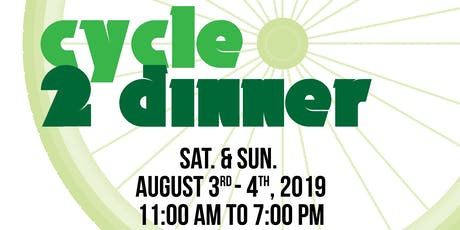 Cycle2Dinner tickets