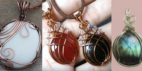 Cabochon Chakra Stone Wire Wrapping Class with Marggi Markowitz tickets