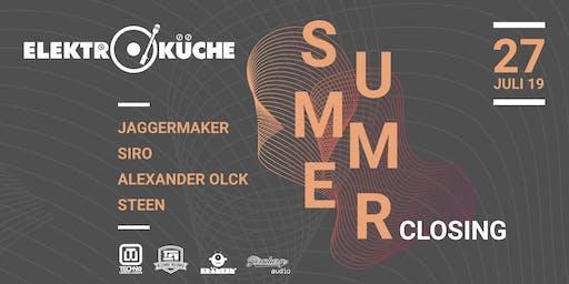Elektroküche Summer Closing 2019