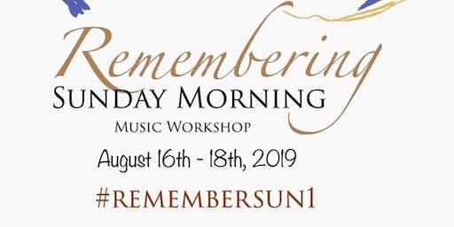 Remembering Sunday Morning