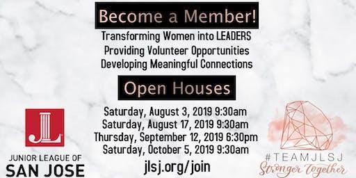Junior League of San Jose Perspective New Member Open House