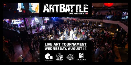 Art Battle Los Angeles - August 14, 2019 tickets