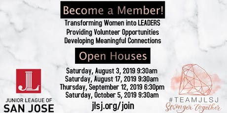 Junior League of San Jose Perspective New Member Open House tickets