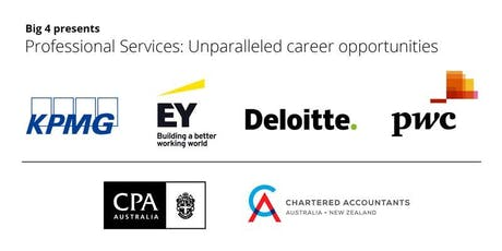 Big 4 Presents: Professional Services - Unparalleled career opportunities tickets
