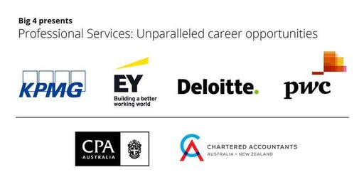 Big 4 Presents: Professional Services - Unparalleled career opportunities
