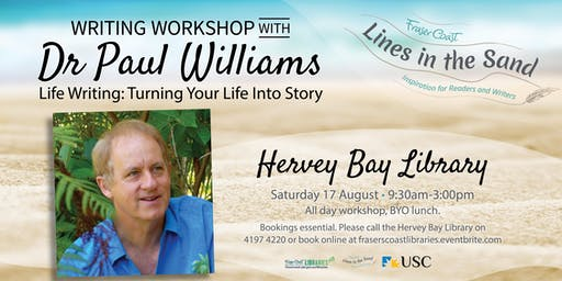 Writers Workshop with Dr Paul Williams - Hervey Bay Library