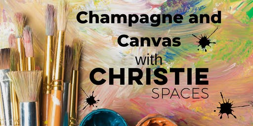 Champagne and Canvas, Painting Workshop
