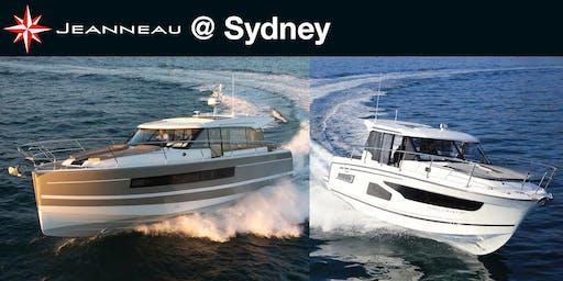 Jeanneau Power @ Sydney Boat Show 2019