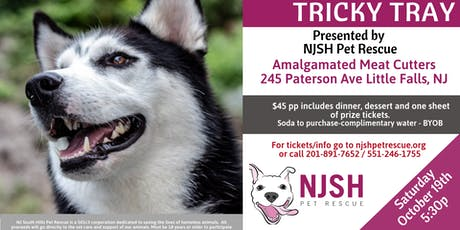 Tricky Tray Supporting NJSH Pet Rescue tickets