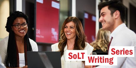 SOLT Writing Series - Forum tickets