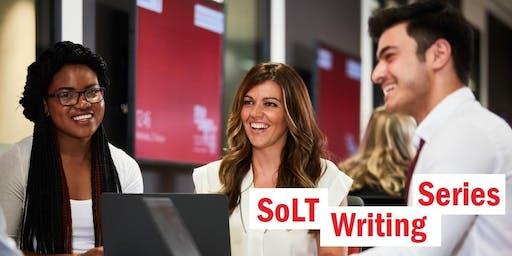 SOLT Writing Series - Forum