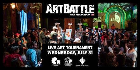Art Battle San Francisco - July 31, 2019 tickets