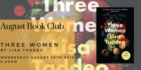 August Book Club - Three Women by Lisa Taddeo tickets