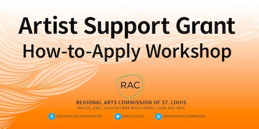Artist Support Grant How-to-Apply Workshop at Kirkwood Public Library