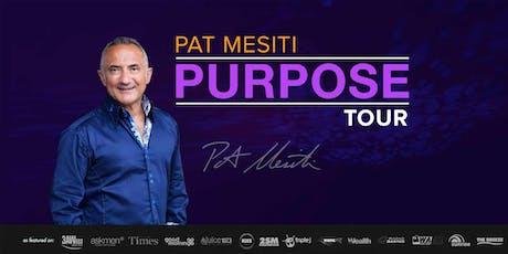 Pat Mesiti PURPOSE: Melbourne tickets