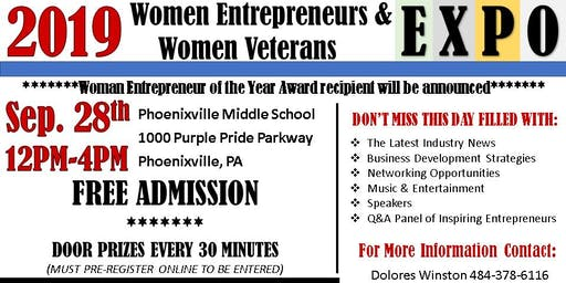 Women Entrepreneurs & Women Veterans Expo