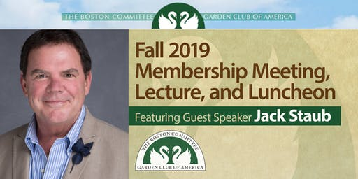 Boston Committee GCA Fall Membership Meeting, Lecture, Luncheon