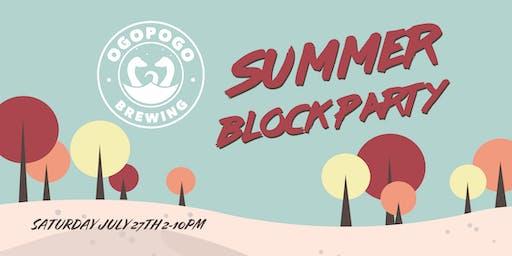 Summer Block Party 19'