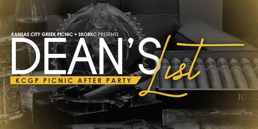 KCGP AFTER PARTY: DEANS LIST