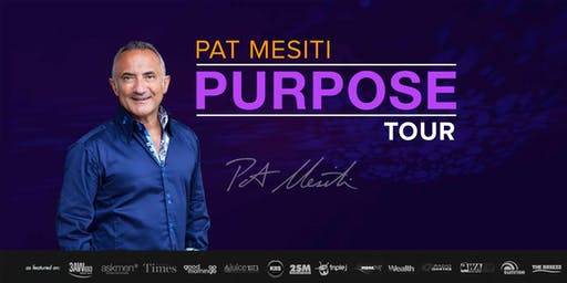 Pat Mesiti PURPOSE: Adelaide