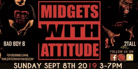 Midgets with Attitude Wrestling Event tickets