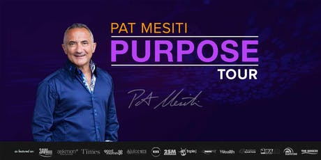 Pat Mesiti PURPOSE: Sydney tickets