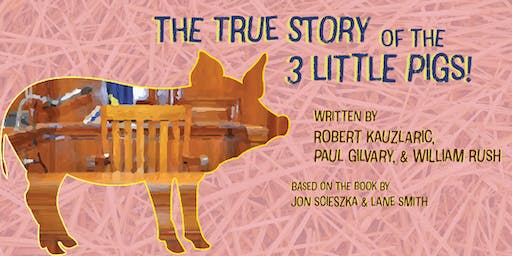 The True Story of the 3 Little Pigs - Sensory Friendly
