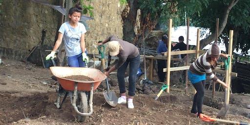 Rain Barrel Fund Raising Sale to Help Build a Youth Community Centre in El Salvador