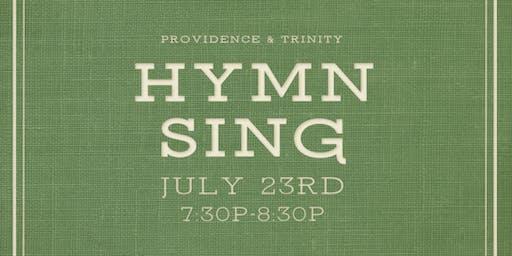 Providence & Trinity Hymn Sing