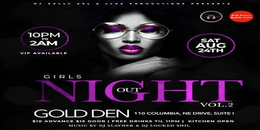 Girls Night Out Vol 2. *SC Black Pride Week*