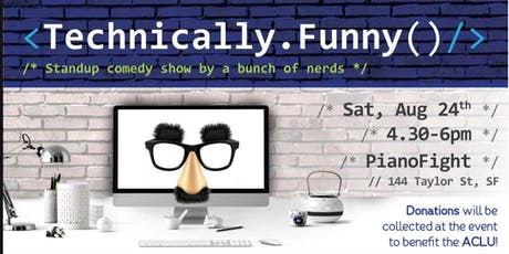 24 Technically Funny v4 - Free Comedy for Good! tickets