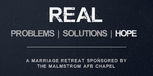 Real Solutions Marriage Retreat by MAFB Chapel