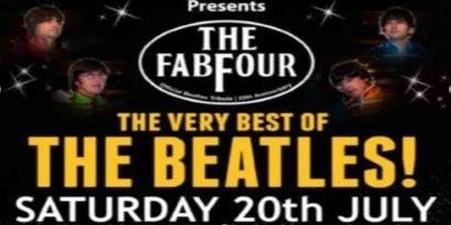 Fab Four Beatles Tribute Dinner Show Swan Valley 20/7/19