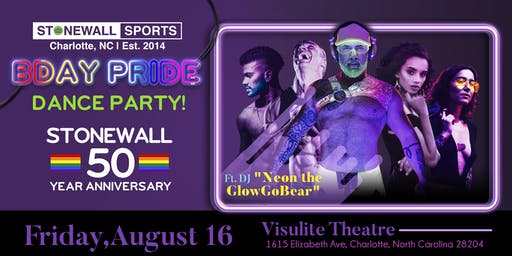 Stonewall Birthday Pride Dance Party