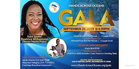 Hands Across Oceans Gala/Fundraiser  tickets