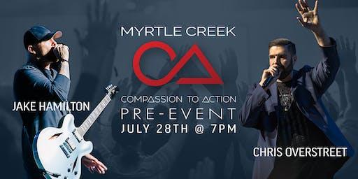 Myrtle Creek Pre-Event