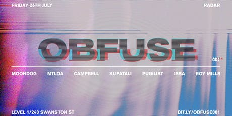 OBFUSE001: PUGILIST & LOCAL KNOWLEDGE +  tickets
