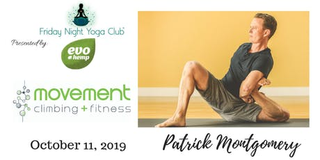 FNYC 10/11 at Movement Climbing and Fitness RiNo!  Patrick Montgomery is Teaching!  tickets